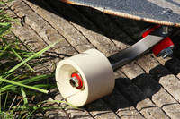 Ivory Pigmented Skateboard Wheel Thumbnail